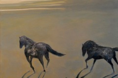 "Pancho & Lefty- 24""x20"" acrylic on canvas"